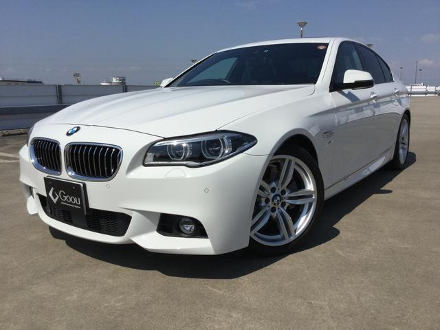 BMW 5シリーズ 528i Mスポーツ 本革 サンルーフ ワンオ...