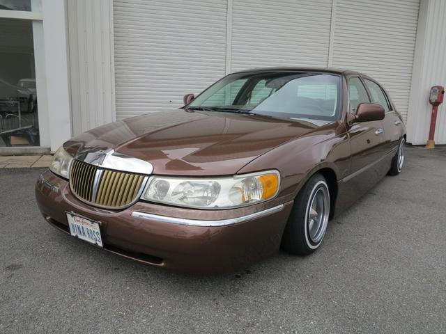 Lincoln Lincoln Towncar 1998 Brown 0 Km Details Japanese