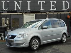 VW ゴルフトゥーランプライムエディション禁煙車 HDDナビ地デジ 安心ロング保証