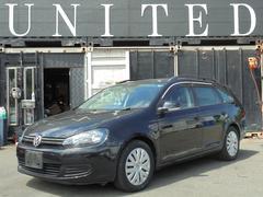 VW ゴルフヴァリアントTSI トレンドライン 2011モデル HDDナビ 保証付