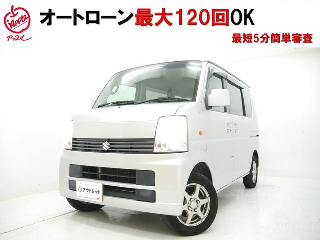 スズキ エブリイワゴン JP キーレス 電格ミラー 純正オーディオ...