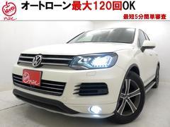 VW トゥアレグV6☆1オナ☆禁煙☆SR☆純正HDDナビ☆全国対応1年保証