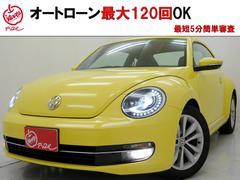 VW ザ・ビートルデザインレザーPKG フルセグナビBカメラ 全国対応1年保証
