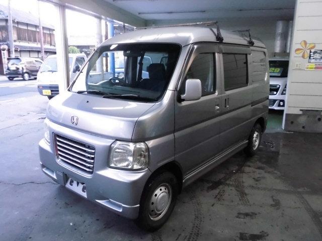 ホンダ バモスホビオプロ プロ 4WD キーレス Tベル交換済 (...