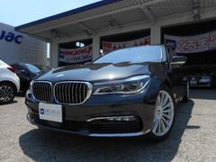 BMW740iプラスPKG 1オーナー 新車保証付 HUD SR