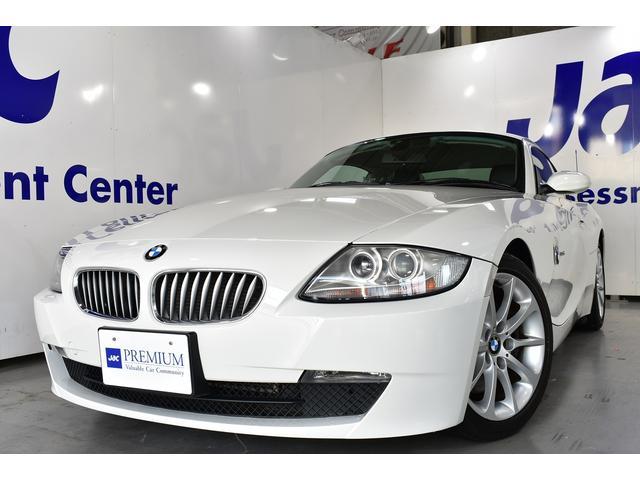 BMW Z4 クーペ3.0si 黒革 純正HDDナビ ユーザー様直...