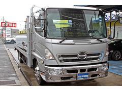レンジャー2台積み 積載車 日新工業製荷台