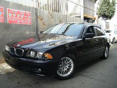 BMW530i 社外HDDナビ 地デジTV DVD再生 革シート