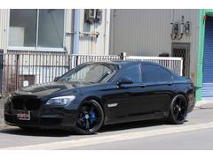 BMW750iMスポーツPKG本革ベンチレーション 純HDDナビ