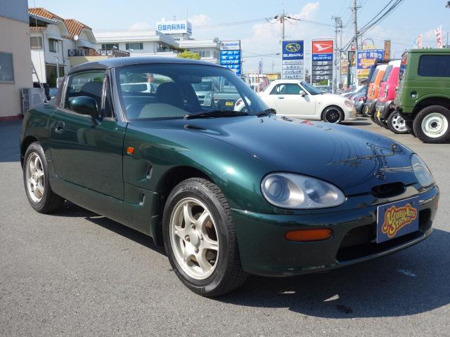 【中古車】スズキ カプチーノ ベース 5 MT 最終型 3.1型K6A エア ...