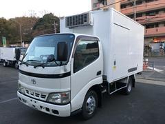 トヨエース2t冷凍車 デンソー−22℃ スタンバイ サイドドア付