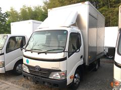 ダイナトラック2tアルミバン全低床 サイドドア 風防 5tAT免許対応