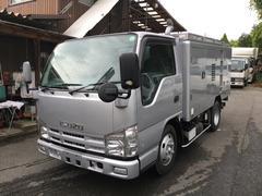 エルフトラック1t高圧洗浄車 新明和ジェットクリーナ
