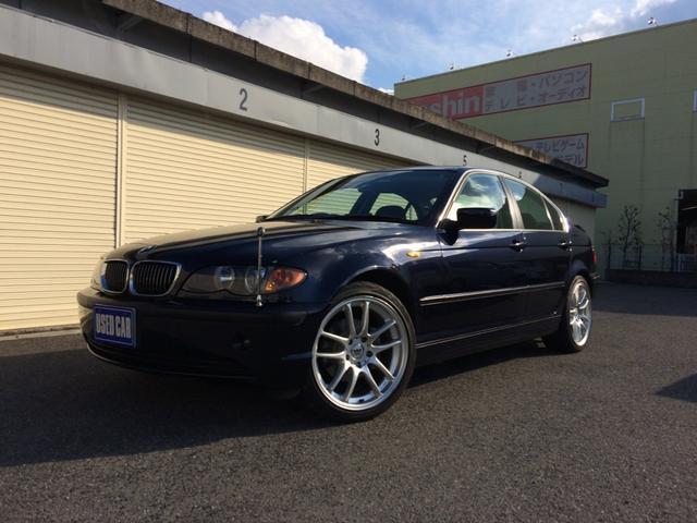BMW 3シリーズ 320i イカリング ナビ 社外マフラー18A...