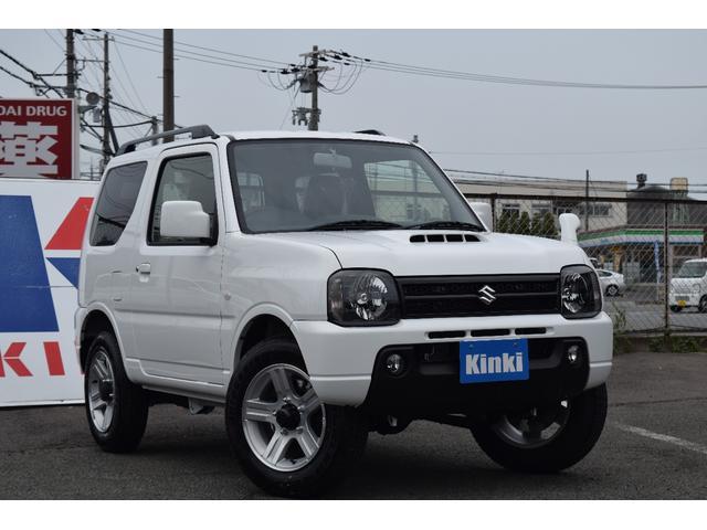 スズキ XCターボ4WD未使用車純正16AWルーフレール