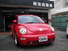 VW ニュービートルプラス サンルーフ 黒革シート 17アルミ キーレス
