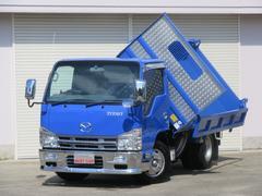 タイタントラック新明和強化三転ダンプ 3.0Dターボ 6速 キーレス 電格