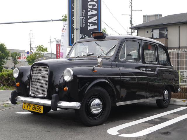 FX4 ロンドンタクシー ディーゼル車 黒革 対面シート