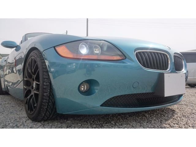 BMW Z4 2.2i 18インチアルミ HID ETC (車検整備付)
