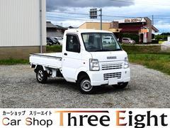 キャリイトラックKCエアコン・パワステ 4WD ユーザー買取車