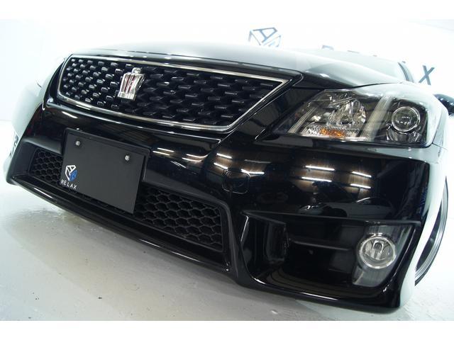 トヨタ 2.5アスリート アニバーサリーED黒革1年保証新品アルミ
