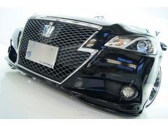 クラウンハイブリッドアスリートS 黒革 全国1年保証 新品アルミタイヤ新品車高調