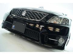 クラウンアスリートGパッケージ本革 全国1年保証新品車高調新品アルミ