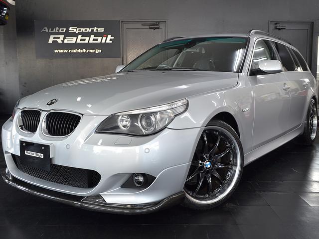BMW 525iツーリングハイライン Mスポーツ仕様20インチアルミ