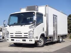 エルフトラック 移動販売車 ショーケース 冷凍ストッカー バックモニター(いすゞ)