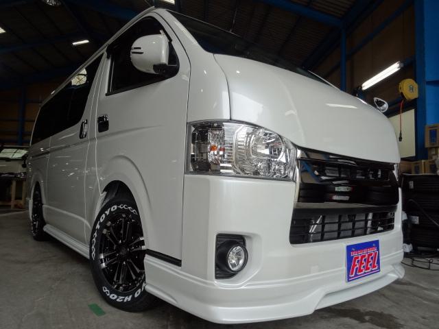 トヨタ 3.0D S-GLダークプライム エアロカスタムコンプリート