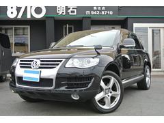 VW トゥアレグV6 CDCエアサス ナビTV 黒革 パドルシフト