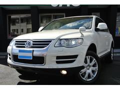 VW トゥアレグV6 ナビTV 黒革 クルコン エアサス 4WD