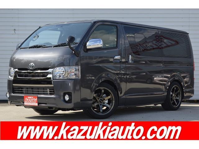 トヨタ スーパーGL ダークプライム ナビ Bカメラ セキュリティ