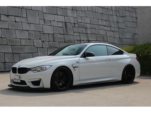 BMW M4 M4クーペ ワンオーナー BBS20インチAW KW...