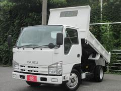 エルフトラック2トン積み 強化フルフラットローダンプ 荷台塗装仕上済
