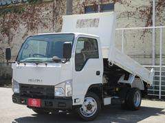 エルフトラック4WD 2トン積み 強化フルフラットローダンプ 荷台仕上げ済