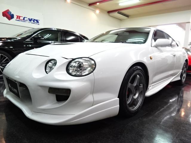 トヨタ GT-FOUR最終型マフラエアクリ車高調レカロTRDメーター