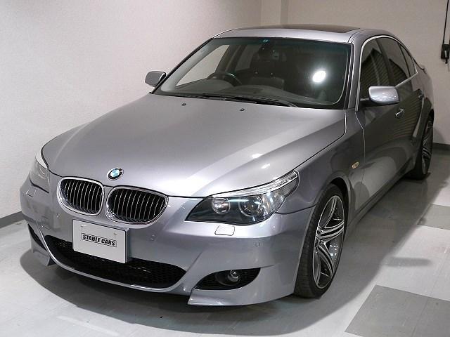 BMW 5シリーズ 545i V8 Mスポーツバンパー 19インチ...