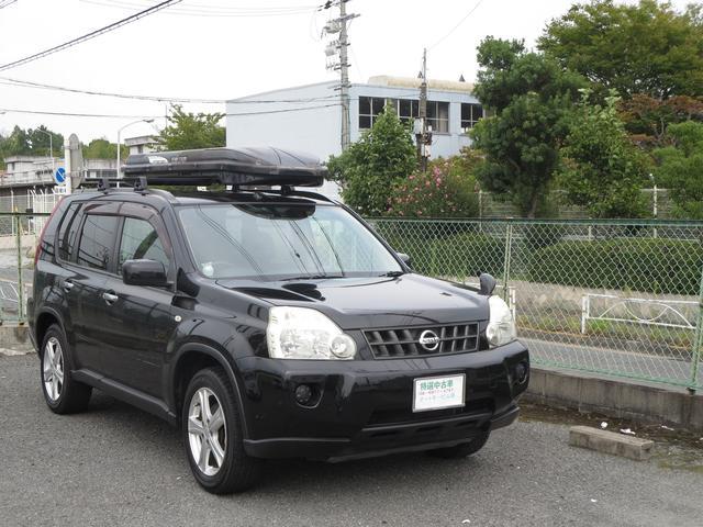 日産 20X4WD サイバーナビ(地デジHDD) ルーフボックス