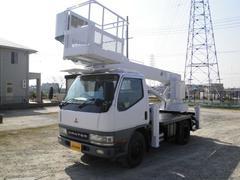 キャンターアイチ製12M高床作業車