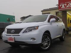 RXRX450h 白本革・サンルーフ・HDDマルチ