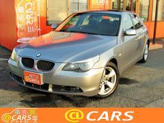 BMW530iハイラインパッケージ 黒革シート サンルーフ ナビ