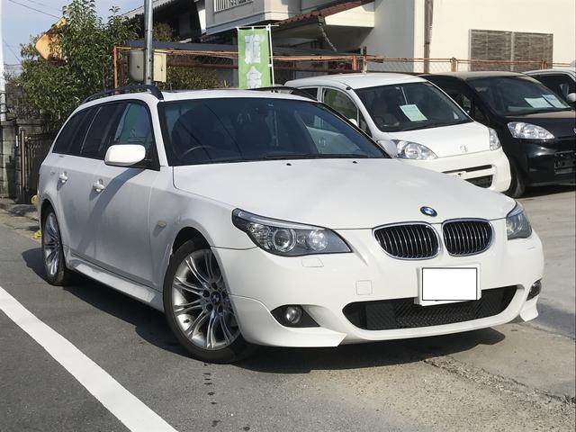 BMW 5シリーズ 525iツーリング Mスポーツ 後期型 HDD...