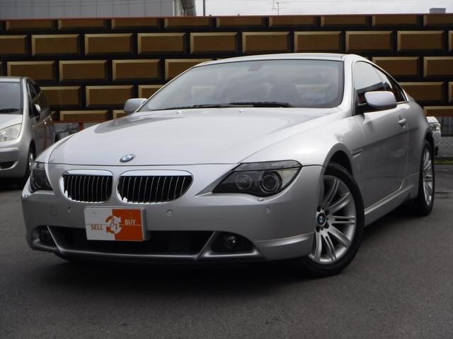 BMW 6シリーズ 650i 1オーナー ナビ 黒革 サンルーフ ...