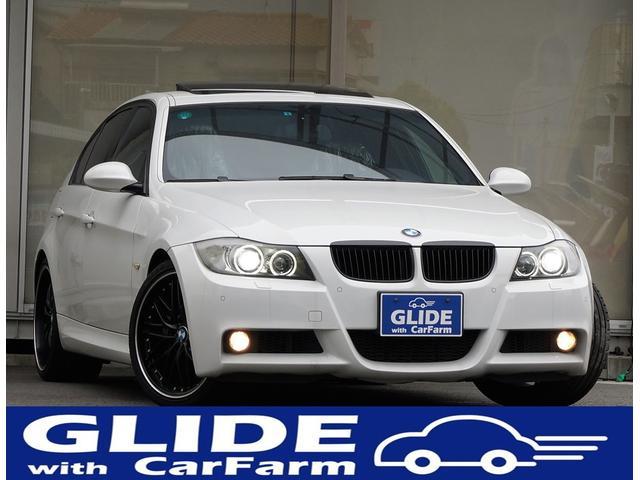 BMW 3シリーズ 335i MスポーツPKG・左・SR・黒革・直...
