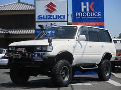 ランドクルーザー804WD サンルーフ 地デジナビ オートクルーズ ETC