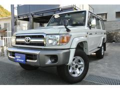 ランドクルーザー70バン 4WD HDDナビ 地デジTV ETC ワンオーナー