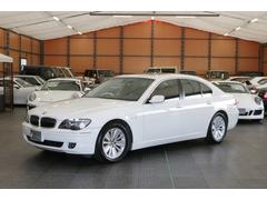 BMW750i当社下取車 期間限定ディーラー車 黒革 禁煙車 左H