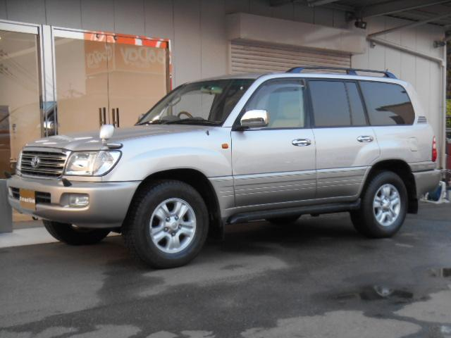 Toyota Land Cruiser 100 Vx Limited G Selection 2003 Silver Ii