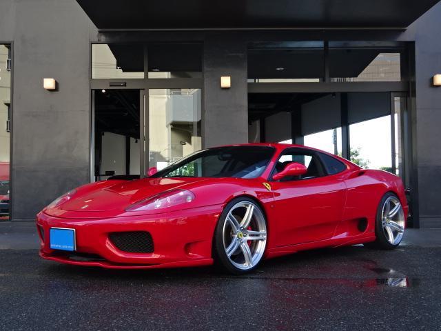 フェラーリ モデナ6速MT社外エアロイノテック可変M社外20インチAW